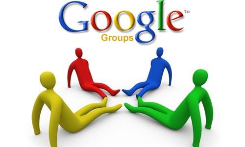 les groupes de google apps