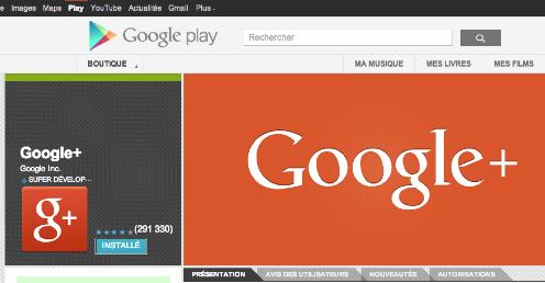 maj google+ android