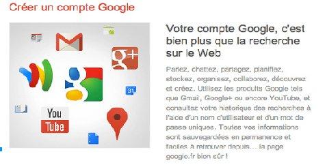 pourquoi créer un compte google