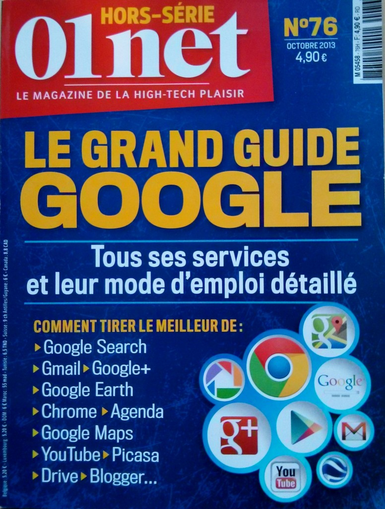 guide complet google de 01 net