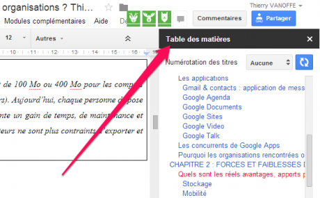 how to add subtitles to an image in google docs