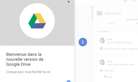 Tour complet de la nouvelle interface de Google Drive