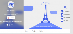 page Goosphère G+