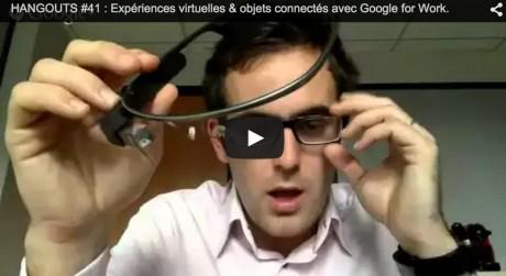 expérience virtuelle et objet connectée avec google