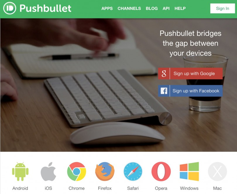 Pushbullet Your devices working better together