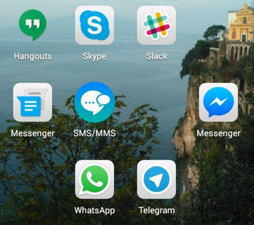 applications messenger android