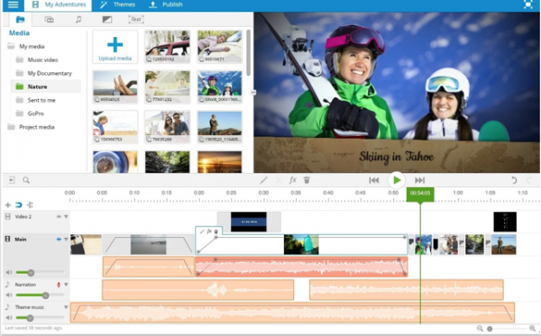 Application Wevideo pour le montage facile