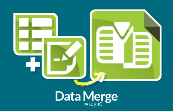 Wizy : Data Merge