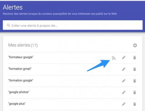 Transformer une Google Alerts en flux RSS