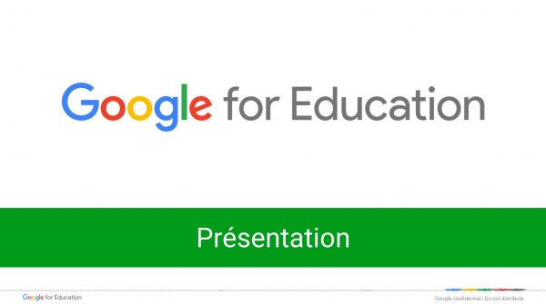 Google Apps for Education : présentation