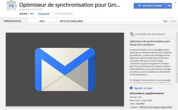 Astuces pour Gmail hors connexion