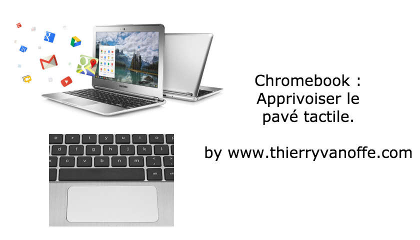 pavé tactile chromebook