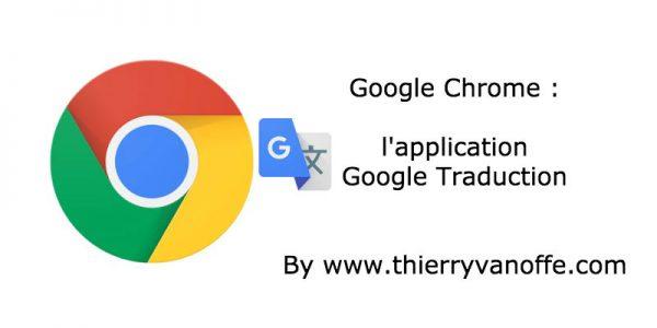 Chrome : l'extension Google Traduction