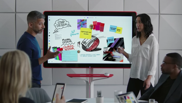Google Jamboard : disponible à la vente.
