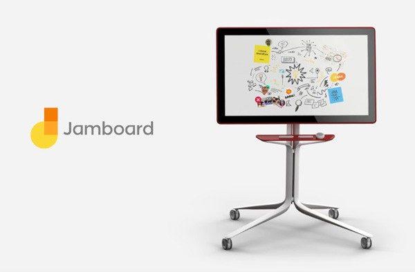 Le jamboard : le nouveau tableau blanc numérique de Google.