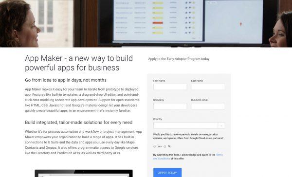 Personnalisez votre expérience de G Suite avec App Maker