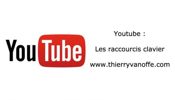 Youtube : les raccourcis clavier