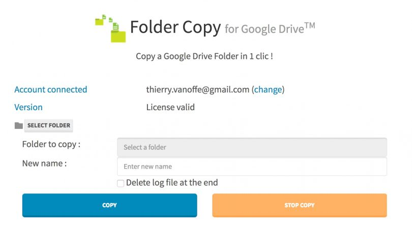 how to copy and paste folders in google drive