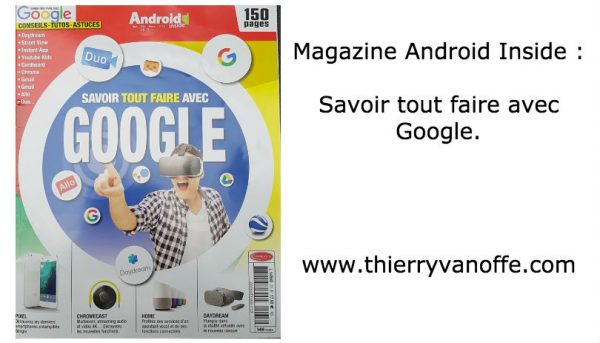Magazine : savoir tout faire avec Google.