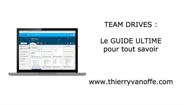 Team Drive : comparatif complet avec Drive