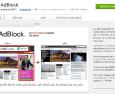 Adblock : l'extension la plus populaire de Chrome