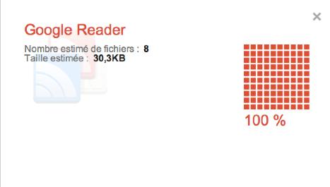 Google takeout google reader