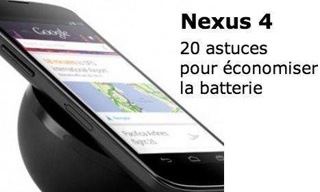 nexus 4 batterie