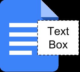 Insertion de zones de texte dans Google Docs