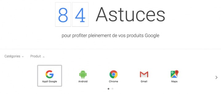 84 astuces by Google