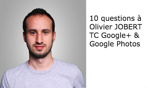 Interview d'Olivier JOBERT