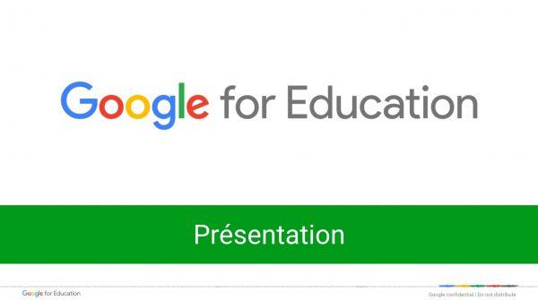 Google Apps for Education : présentation