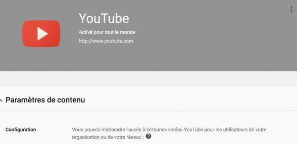 YouTube pour les établissements scolaires et les organisations