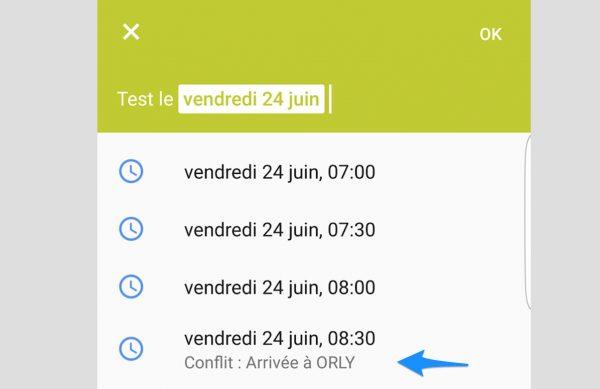 Google Agenda : une mise à jour pour voir les créneaux en conflit sur mobile.