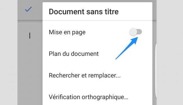 Amélioration de l'édition dans Gdocs et Gsheets sur mobile