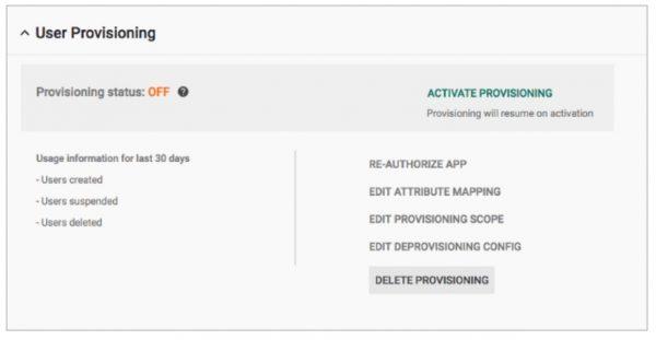 Admin : gérer automatiquement le provisionnement avec SCIM 2.0