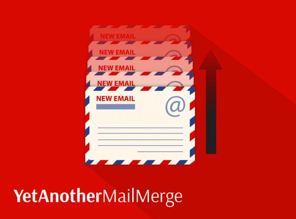2 belles nouveautés pour Yet Another Mail Merge (YAMM).