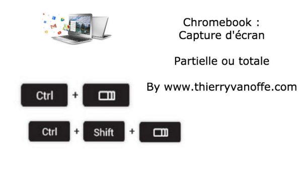 capture écran chromebook