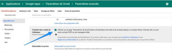 Import de mails et contacts depuis Gmail et Rediffmail supporté !