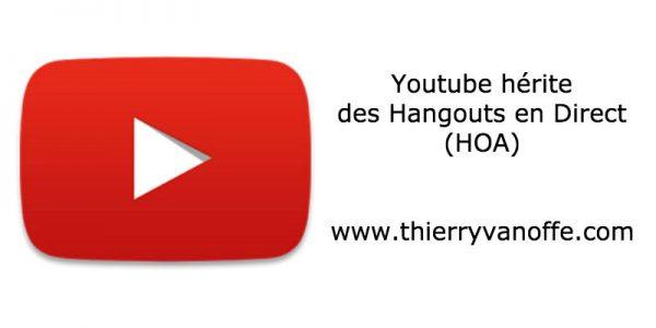 Youtube hérite des HOA