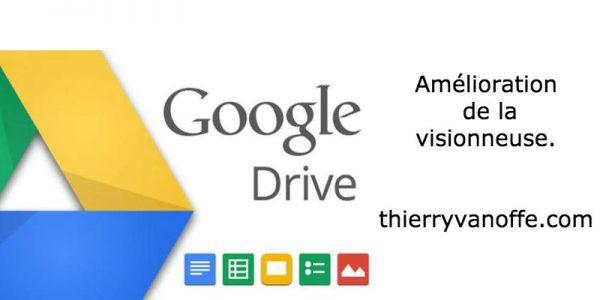 Google Drive : amélioration de la visionneuse