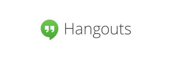 Une nouvelle extension Google Chrome Hangouts.