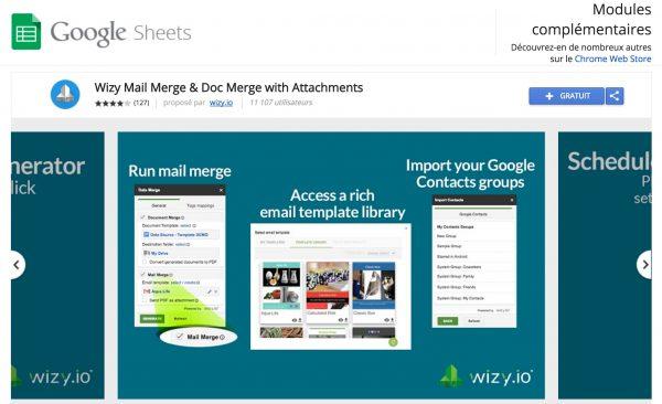 Un succès pour l'add-on de publipostage de documents & emails avec pièces jointes