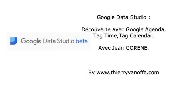 Google Data Studio : retour d'expérience avec l'agenda.