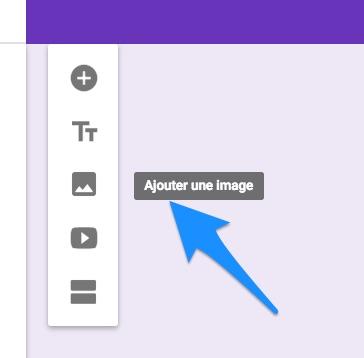 Inserer une image dans g form