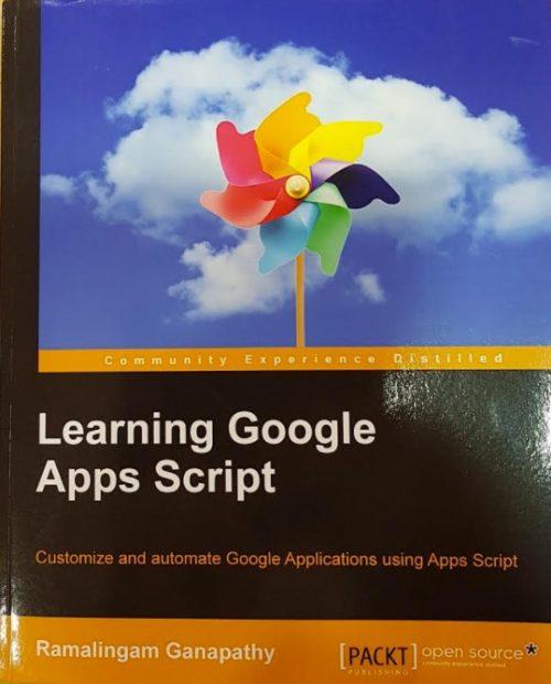 Livre : Learning Google Apps Script