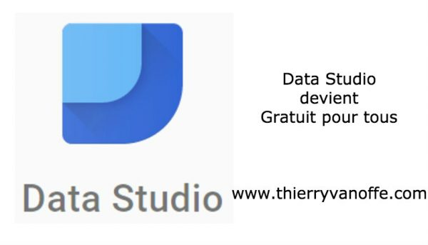 Data studio gratuit pour tous
