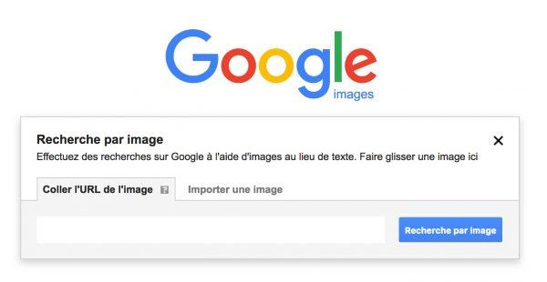 La recherche inversée d'images sur Google
