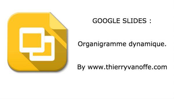 Organigramme dynamique dans Google Slides
