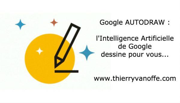 Google AutoDraw : l'IA dessine pour vous...