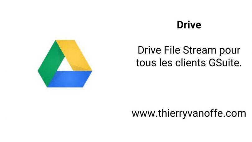 drive file stream pour tous les clients g suite le blog de thierry vanoffe coach g suite. Black Bedroom Furniture Sets. Home Design Ideas